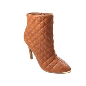 Shoes - Quilted Stiletto Bootie